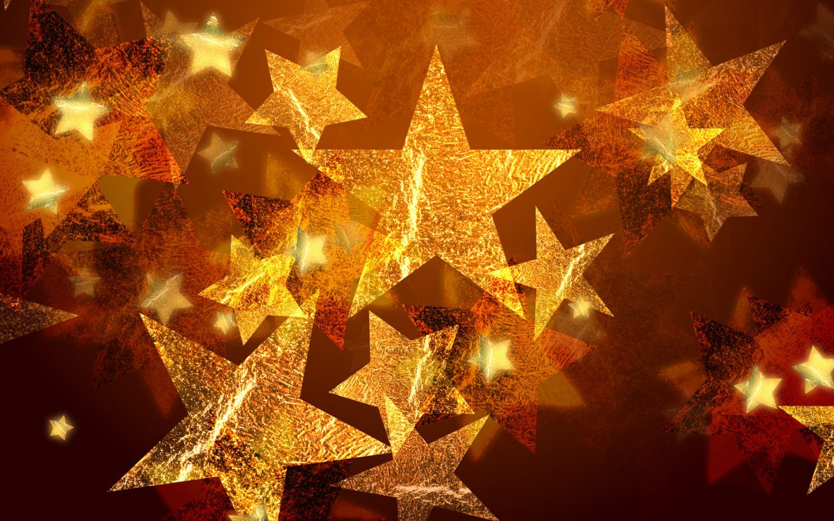 картинки и картички за нова година със звездички