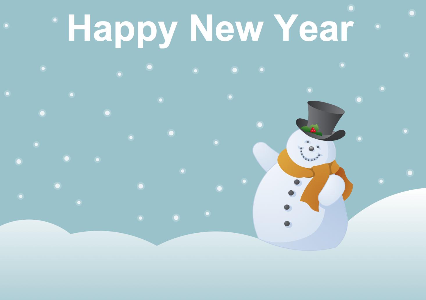 картинки и картички за нова година снежна